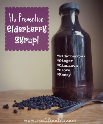 DIY Elderberry Syrup Recipe   Real Food RN