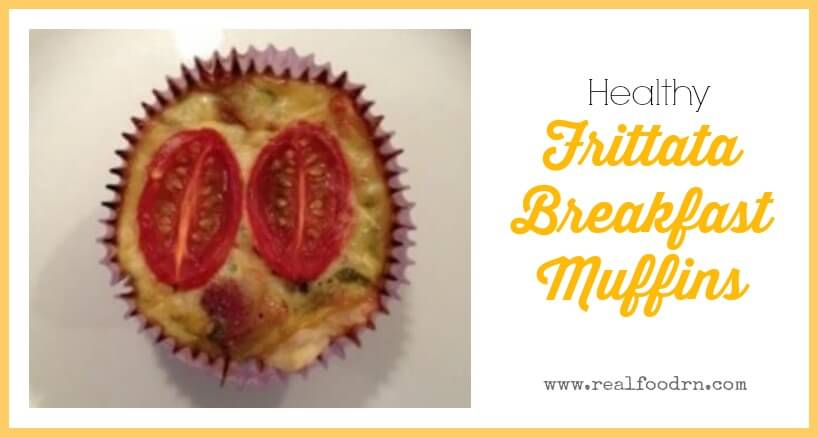 Frittata Breakfast Muffins | Real Food RN
