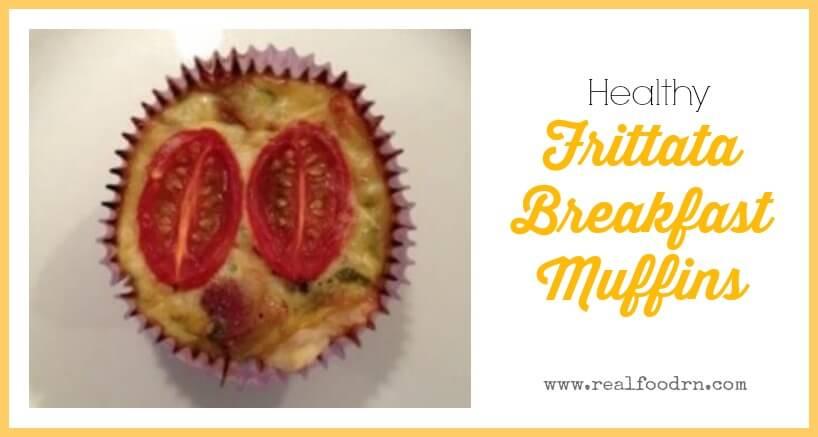 Frittata Breakfast Muffins | Real Food RN
