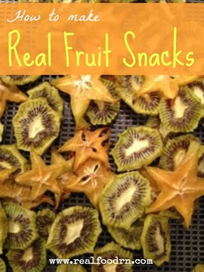 Real Fruit Snacks | Real Food RN