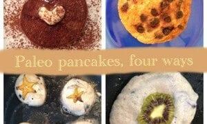 Paleo Pancakes (Four Ways)