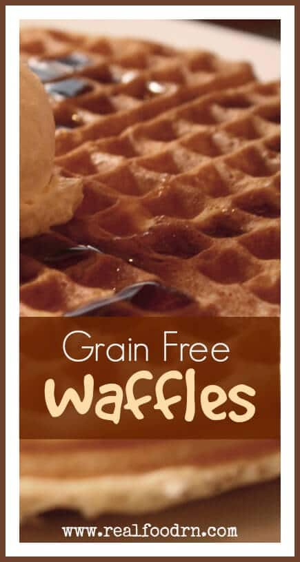 Grain Free Waffles | Real Food RN