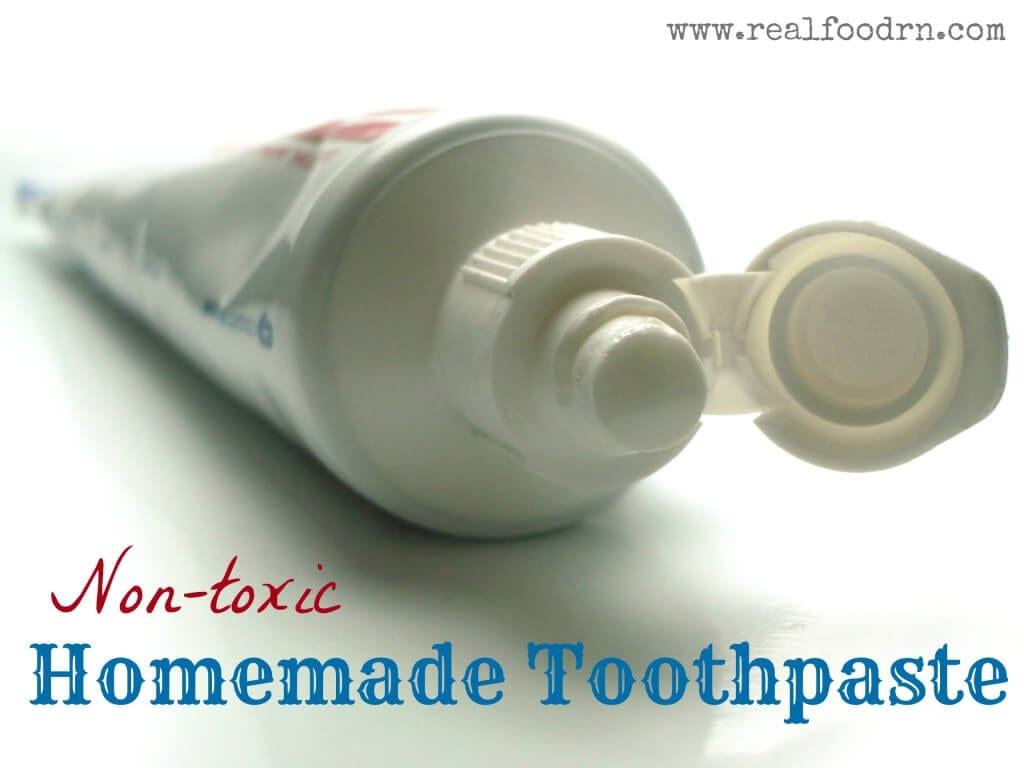 Homemade Toothpaste   Real Food RN
