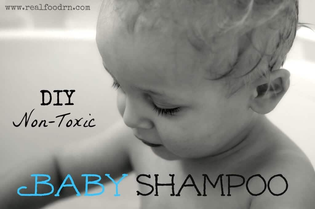 DIY Baby Shampoo | Real Food RN