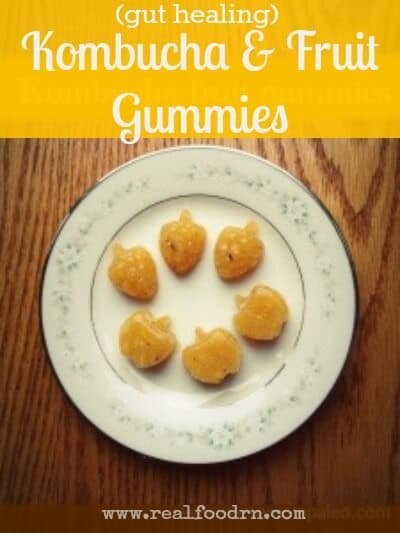 Kombucha Fruit Gummies | Real Food RN