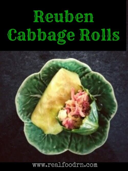 Reuben Cabbage Rolls | Real Food RN