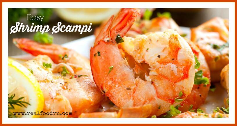 Shrimp Scampi | Real Food RN