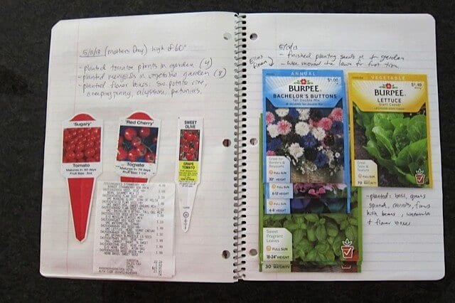 Keeping a Garden Journal | Real Food RN