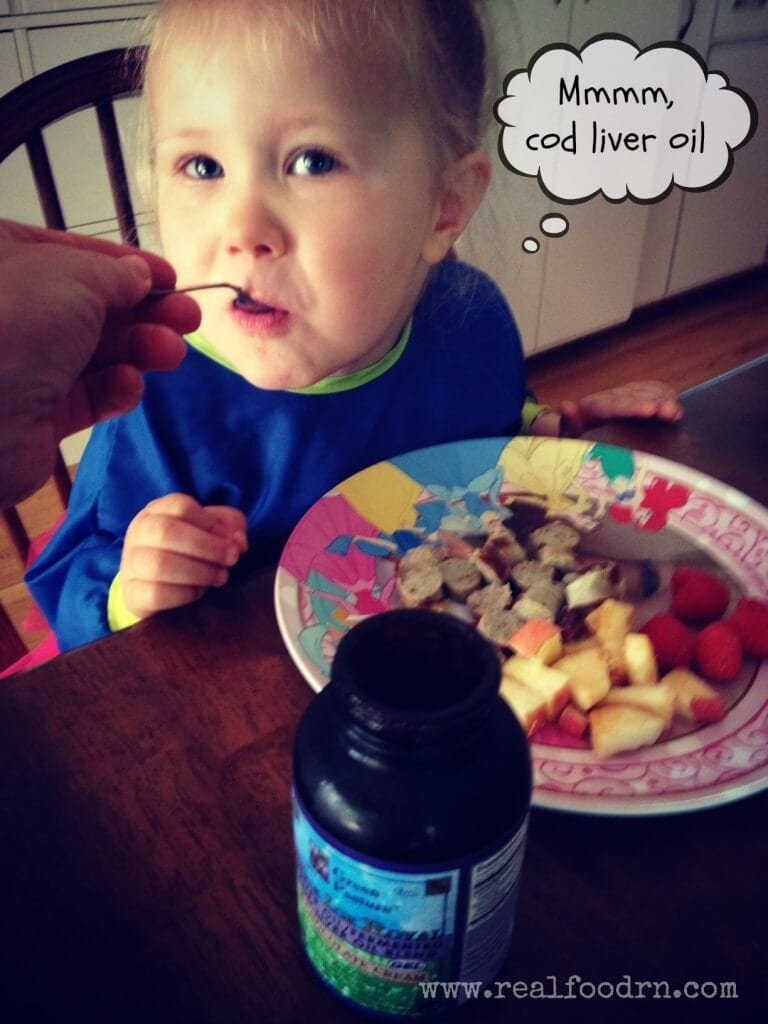 Fermented Cod Liver Oil for Kids | Real Food RN