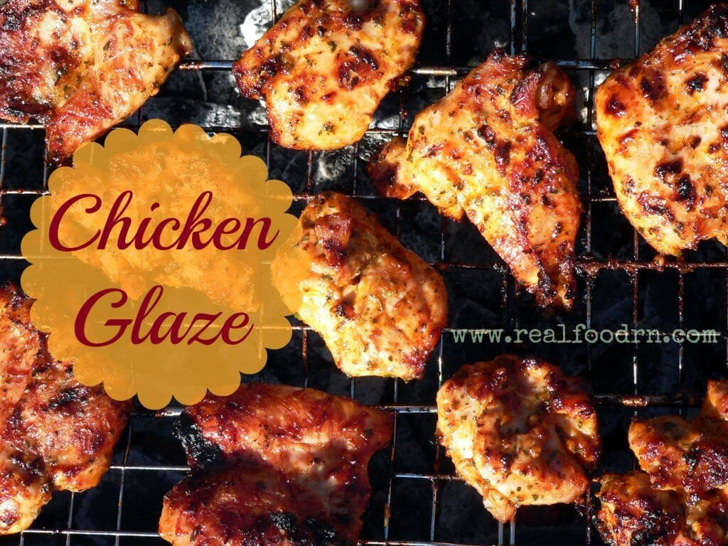 Coconut Oil Chicken Glaze | Real Food RN