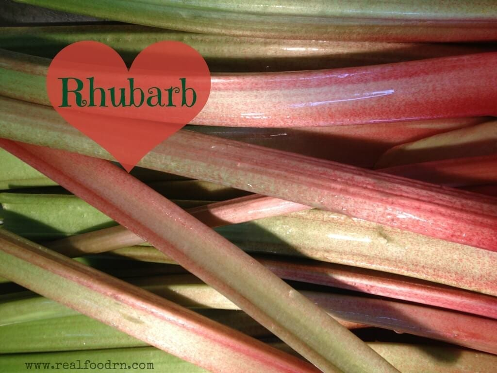 Homemade Rhubarb Sauce | Real Food RN