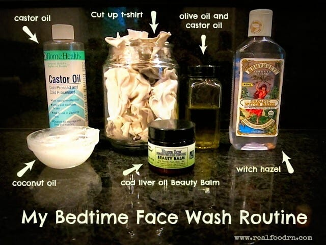 My Bedtime Face Wash Routine | Real Food RN