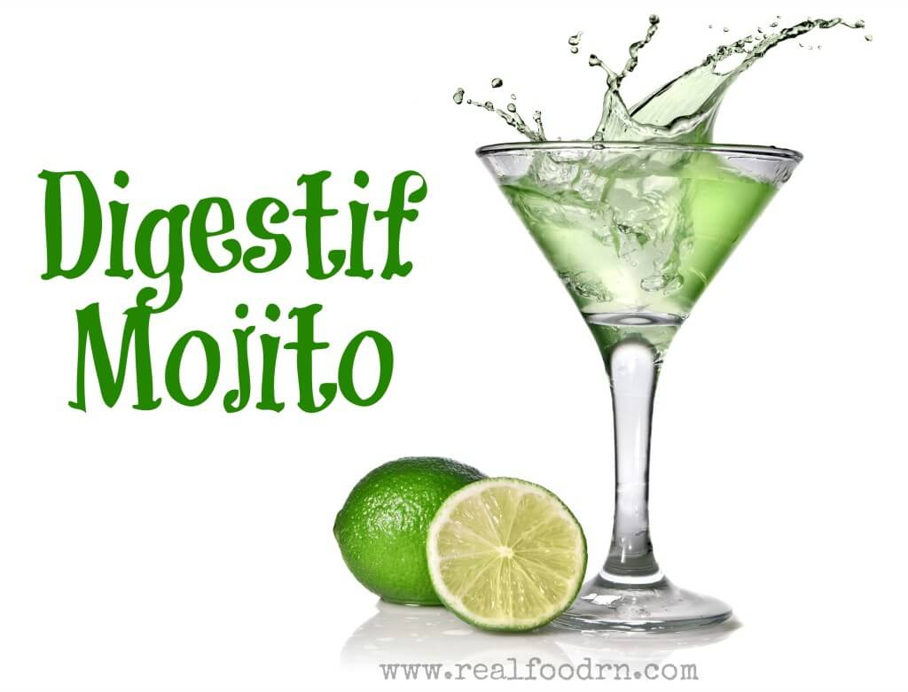 Digestif Mojito | Real Food RN