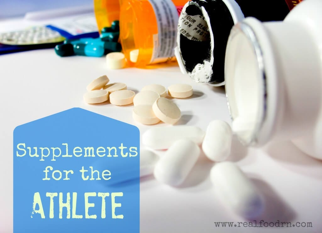 Supplements for Athletic Performance |Real Food RN
