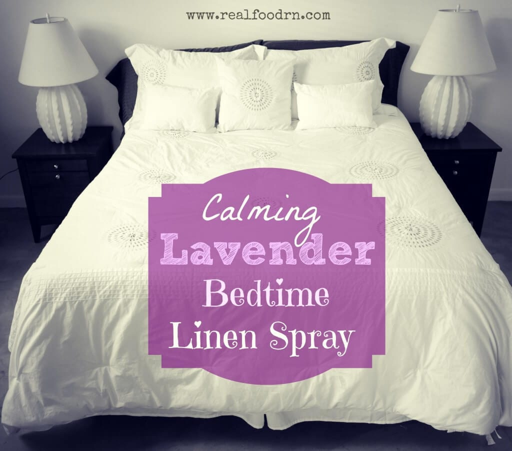 Lavender Bedtime Linen Spray