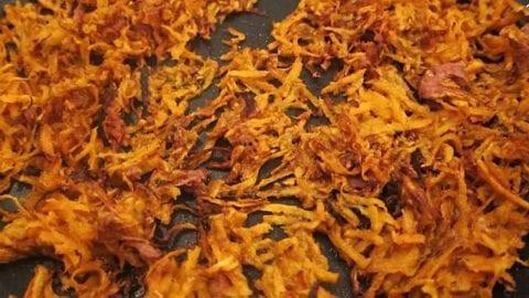Quick & Easy Sweet Potato Hash Browns
