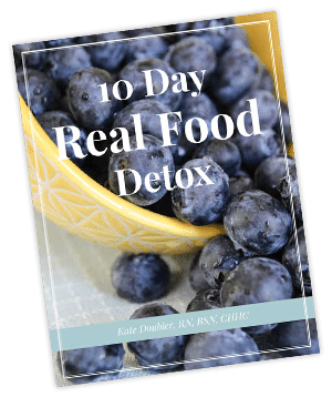 10 Day Real Food Cleanse cover