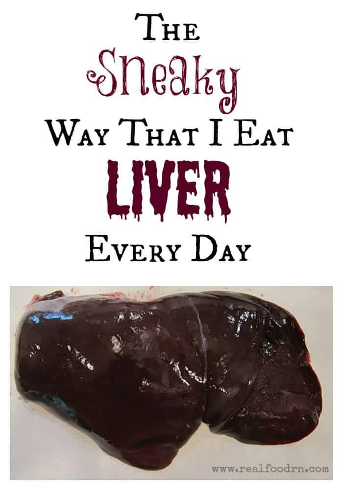 The Sneaky way that I eat Liver Every Day (and why it's so important) | Real Food RN