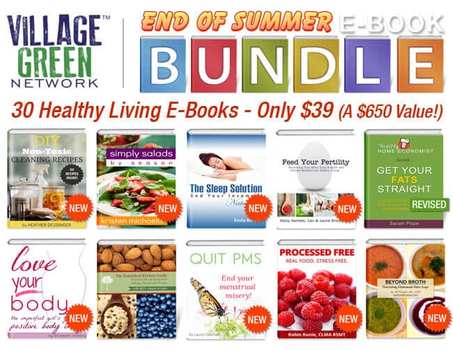 End of Summer E-book Bundle! (30 Books for $39, a $650 Value!!!)