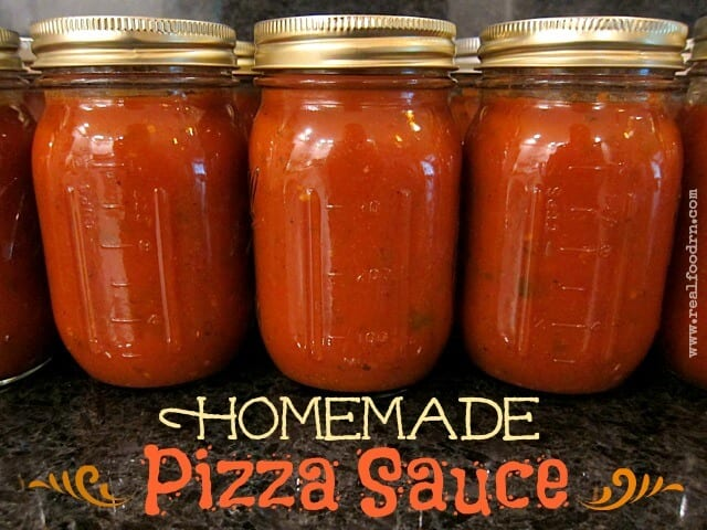Homemade Pizza Sauce | Real Food RN