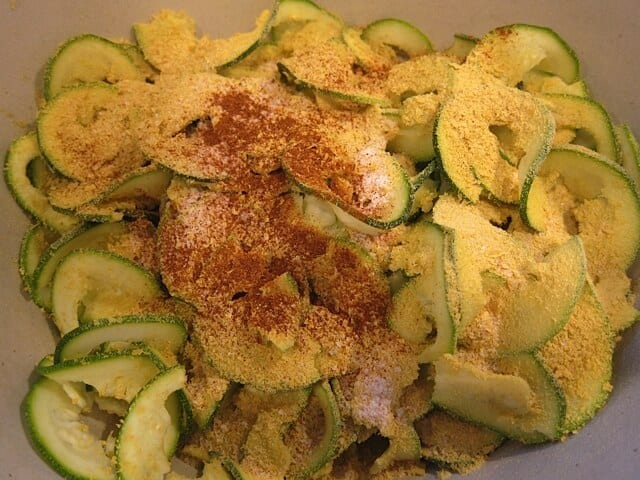 Cheesy Zucchini Chips   Real Food RN