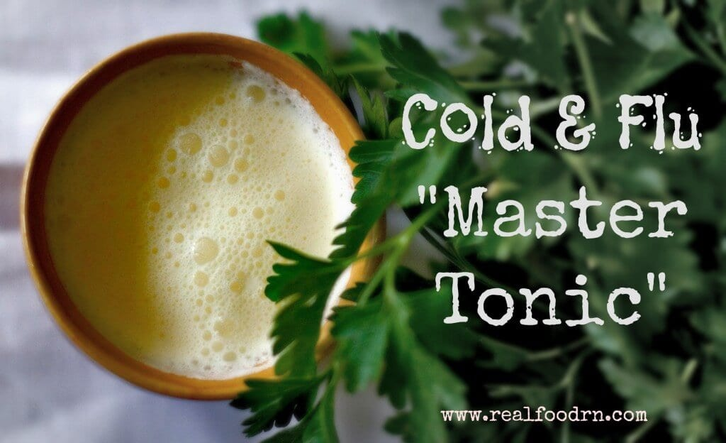 Cold & Flu Master Tonic   Real Food RN
