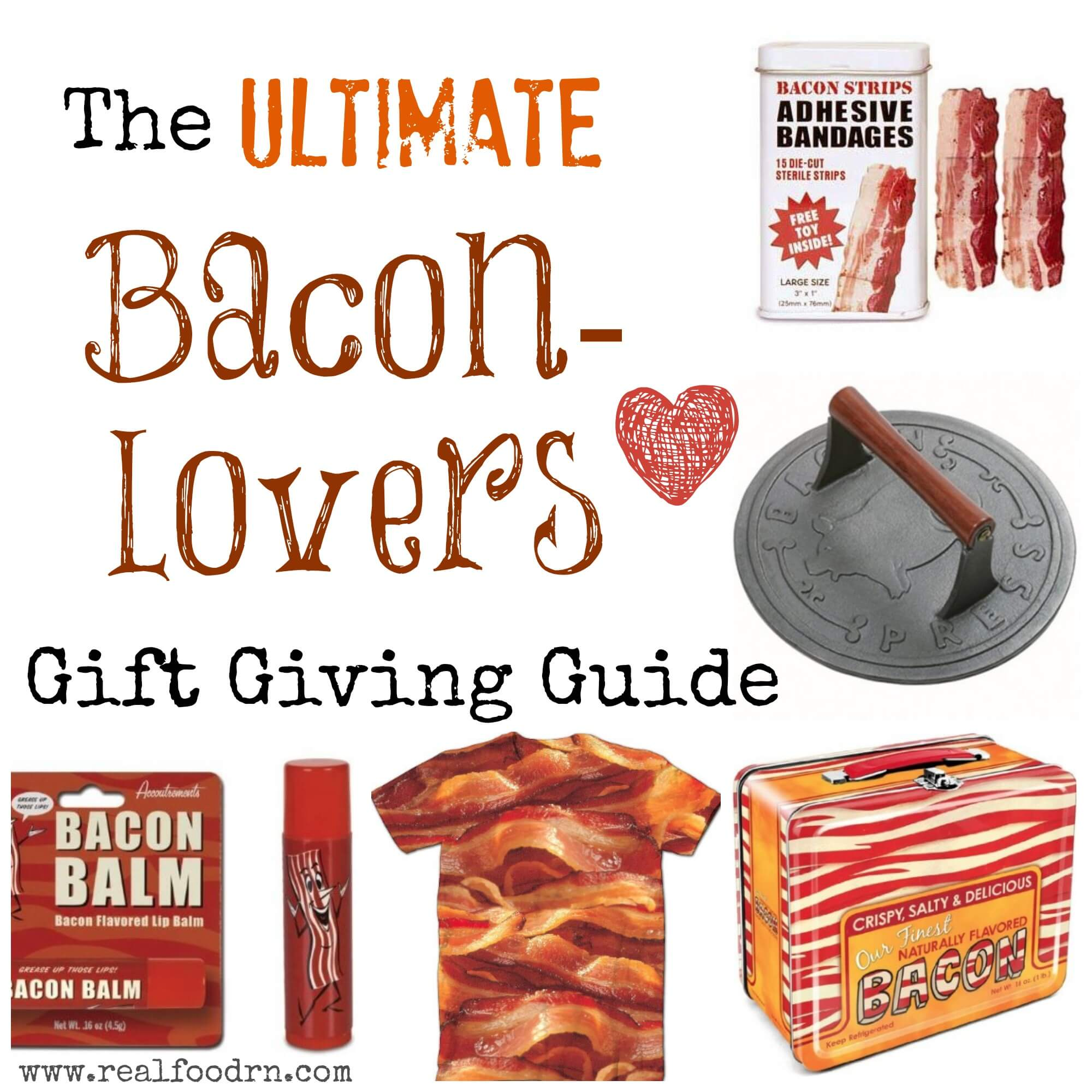 Gift Ideas for the Bacon Lover