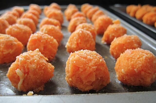 Baked Sweet Potato Tots Gluten Free