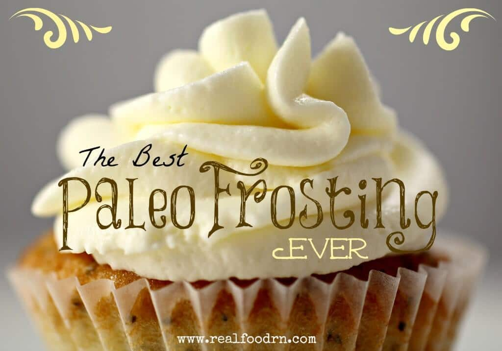 The Best Paleo Frosting Ever | Real Food RN