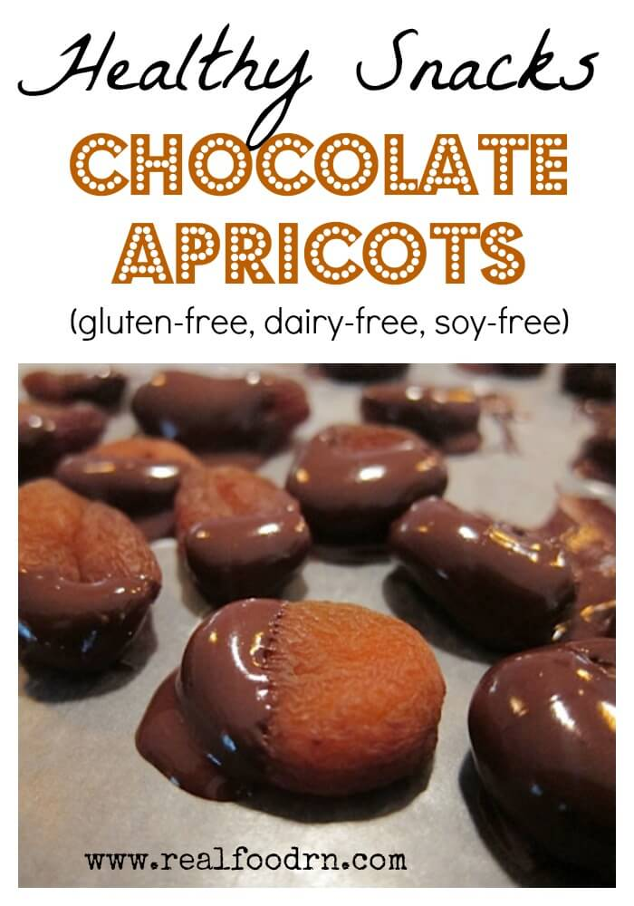 Healthy Snacks: Chocolate Apricots | Real Food RN