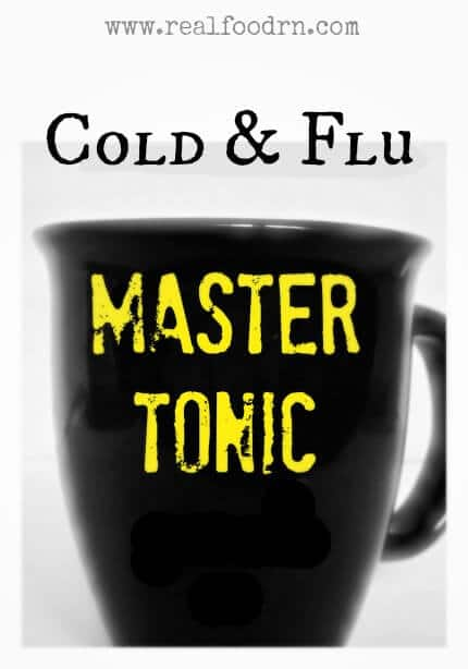 Cold & Flu Master Tonic | Real Food RN