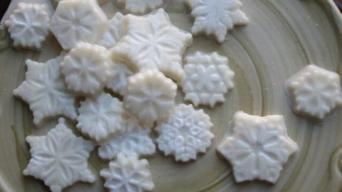 Coconut Snowflakes Candy