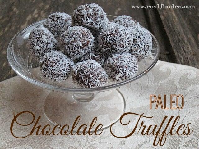 Paleo Chocolate Truffles | Real Food RN