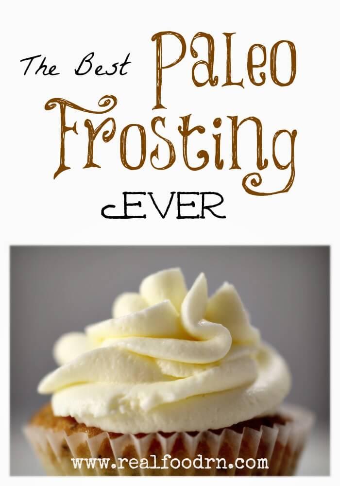 paleo frosting