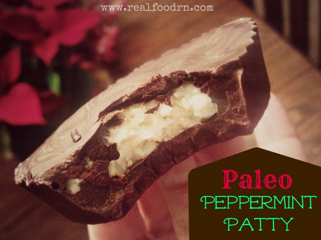 Paleo Peppermint Patty | Real Food RN