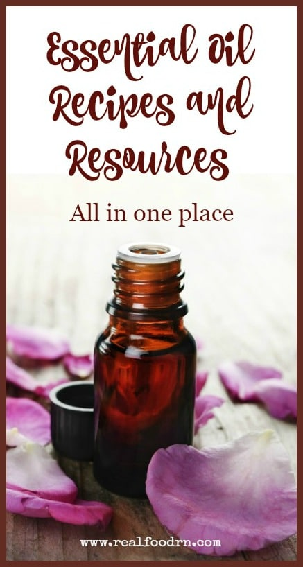Essential Oil Resources | Real Food RN