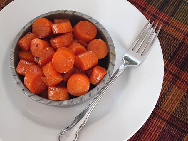Maple & Bacon Glazed Carrots | Real Food RN