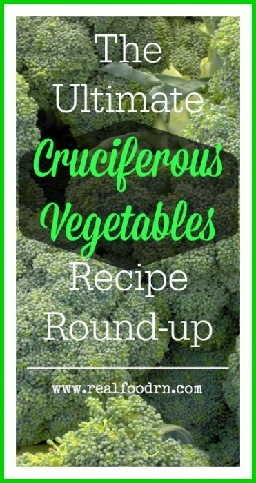 The Ultimate Cruciferous Vegetables List: Recipes Round-up | Real Food RN