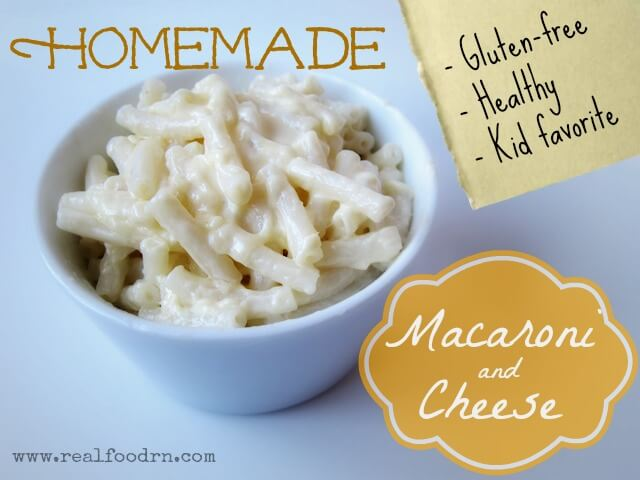 Homemade Macaroni and Cheese {gluten-free} | Real Food RN