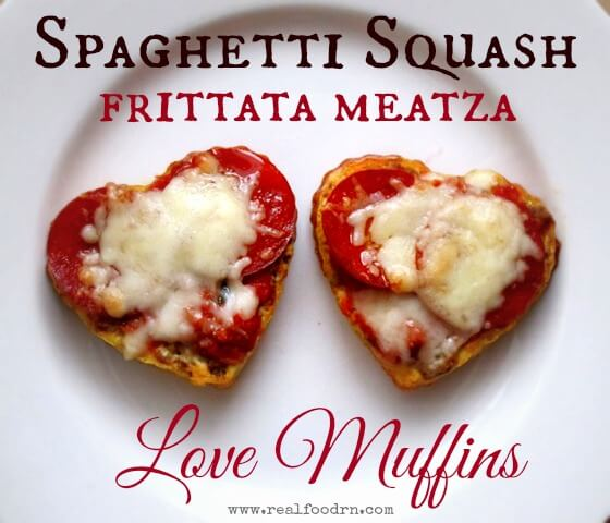 Spaghetti Squash Frittata Meatza Love Muffins | Real Food RN