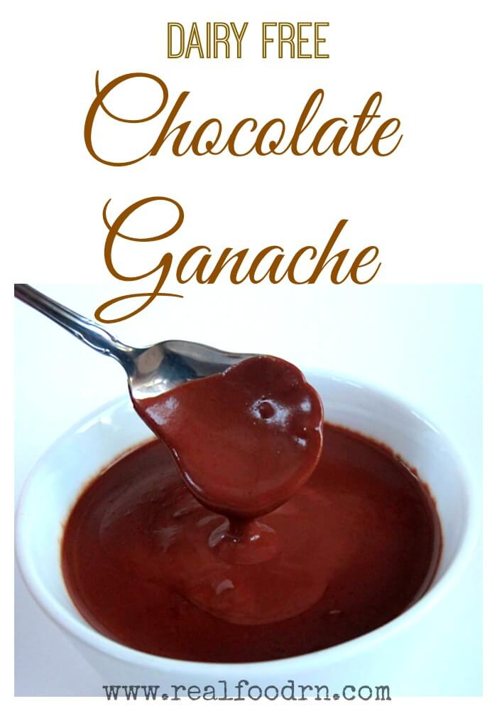 Chocolate Ganache {dairy-free} | Real Food RN