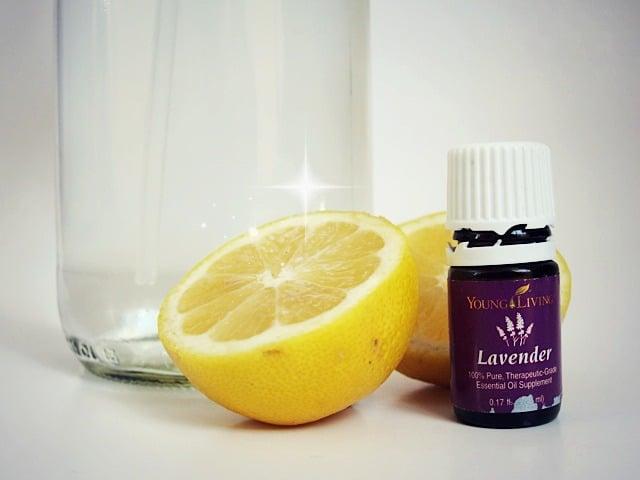 Lemon Lavender Homemade Multipurpose Cleaner | Real Food RN
