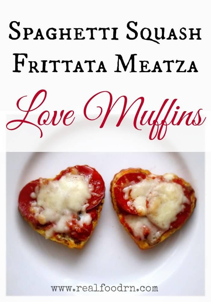 Spaghetti Squash Frittata Meatza Love Muffins   Real Food RN