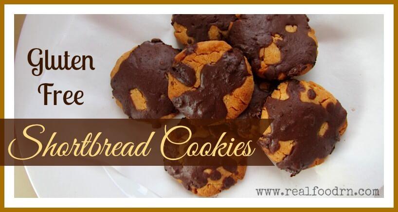 Gluten Free Shortbread Cookies | Real Food RN