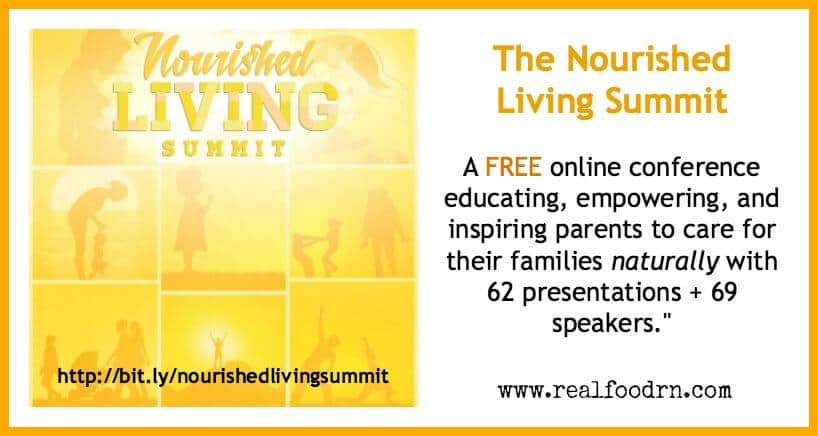 The Nourished Living Summit, a FREE Online Natural Parenting Health Event!
