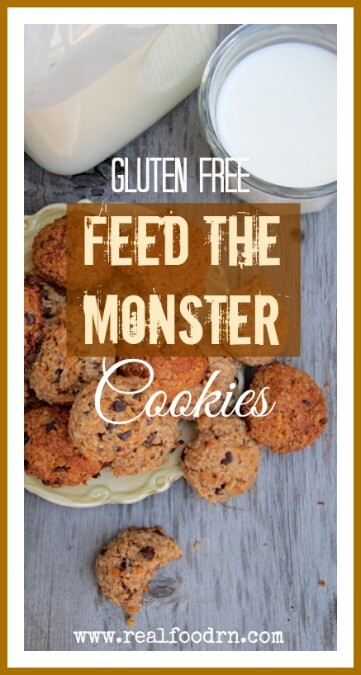 Feed the Monster Cookies! | Real Food RN