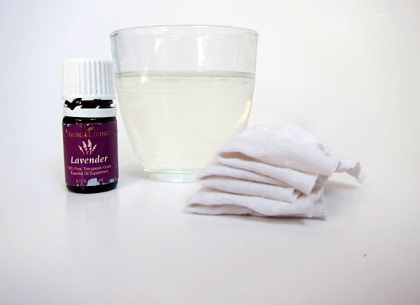 Homemade Eye Makeup Remover with Lavender