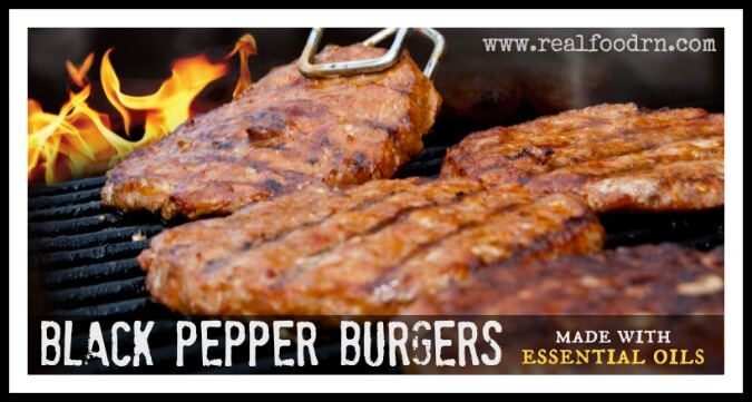 Black Pepper Burgers | Real Food RN