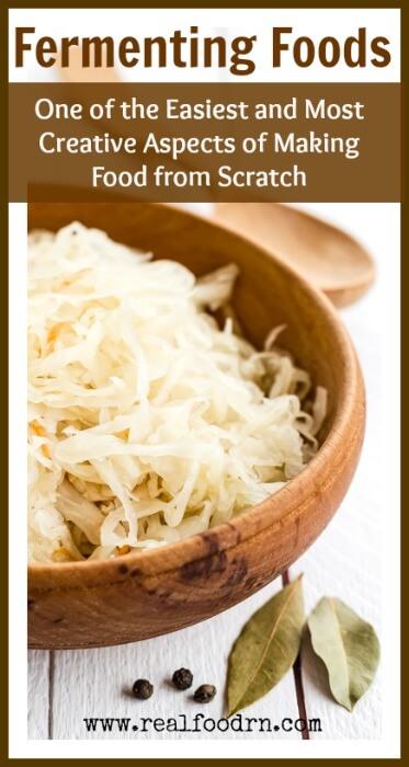 Fermenting Foods | Real Food RN