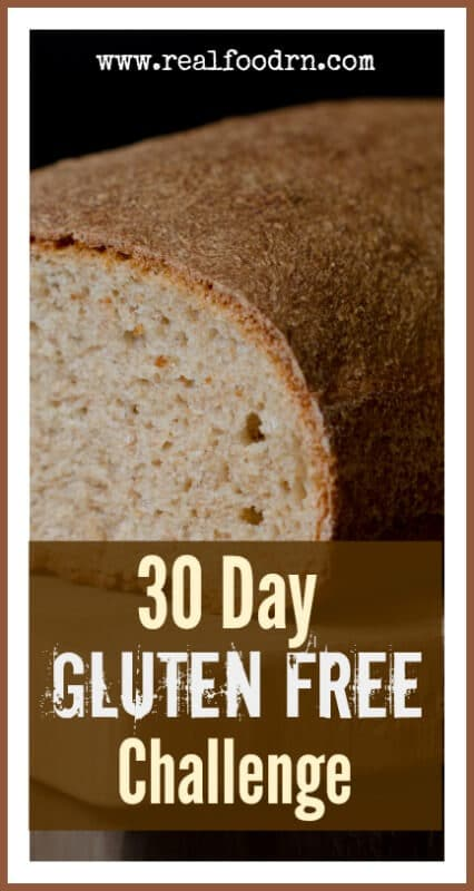 Gluten Free Challenge